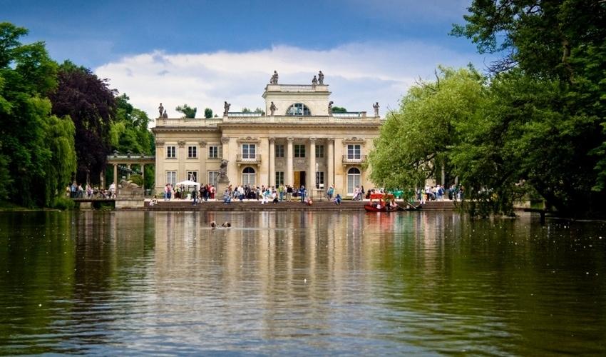 Warschau-Polenreise-Lazienski-Palast